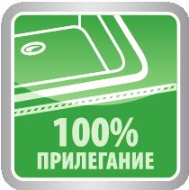 100% прилегание