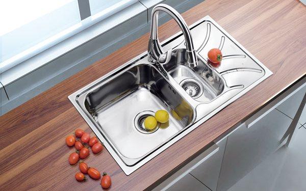 Угловые мойки в дизайне кухни